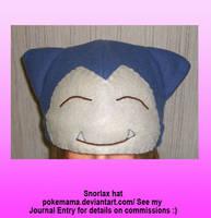 Snorlax hat by PokeMama
