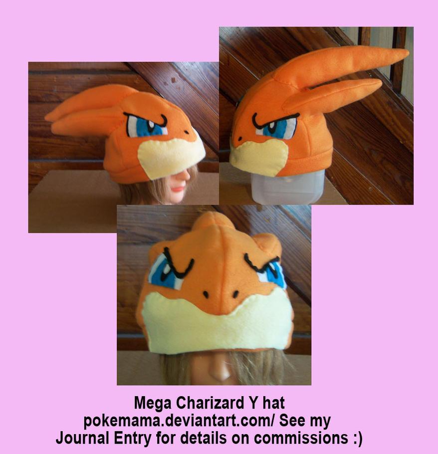 Mega Charizard Y hat by PokeMama