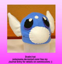 Dratini hat by PokeMama