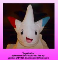 Togakiss hat by PokeMama