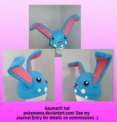 Azumarill hat