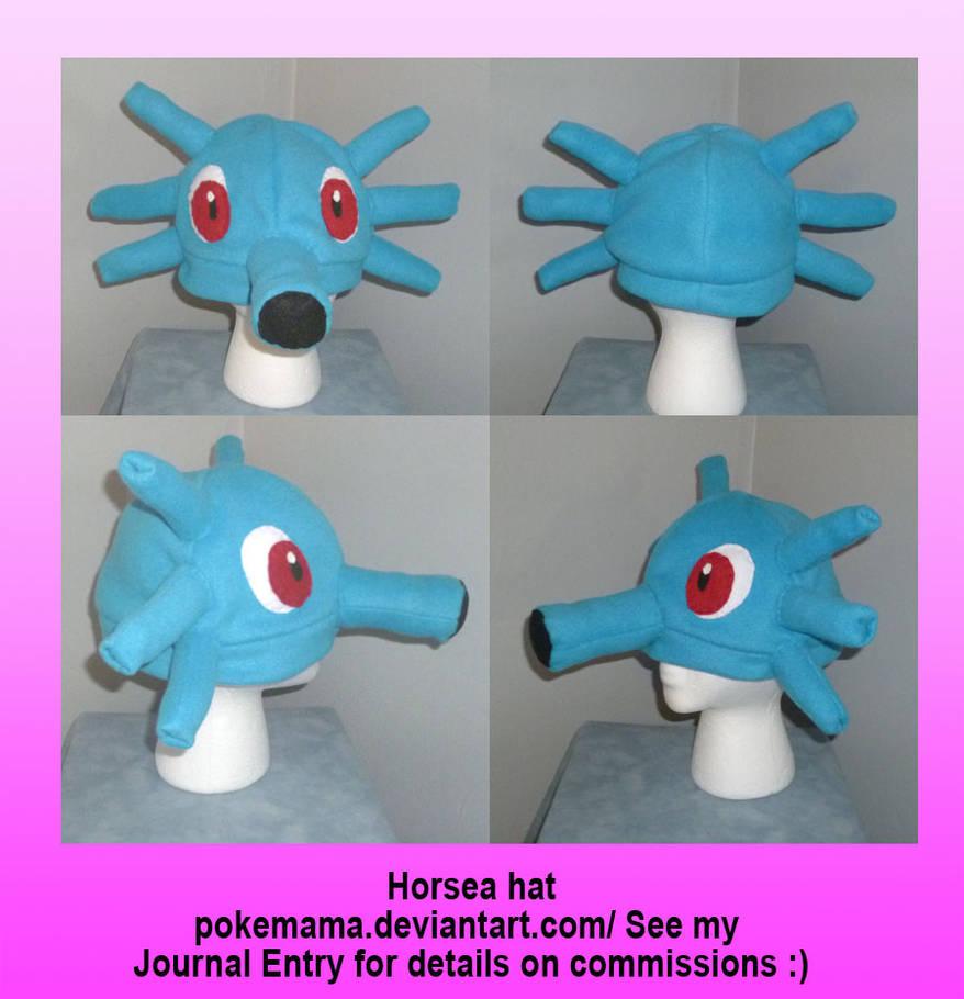 Horsea hat by PokeMama