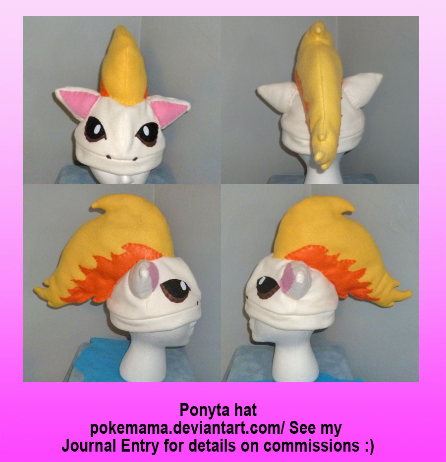 Ponyta hat by PokeMama