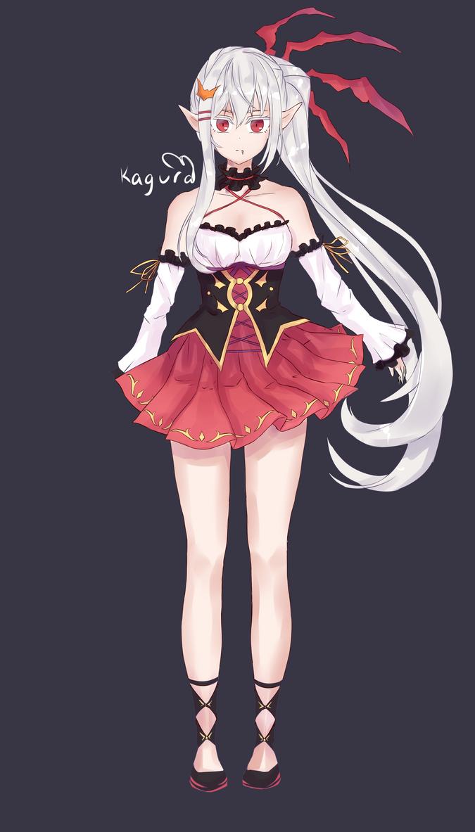 Open adopt vampire girl by faelan1