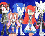 Ys AoN in Sonic style