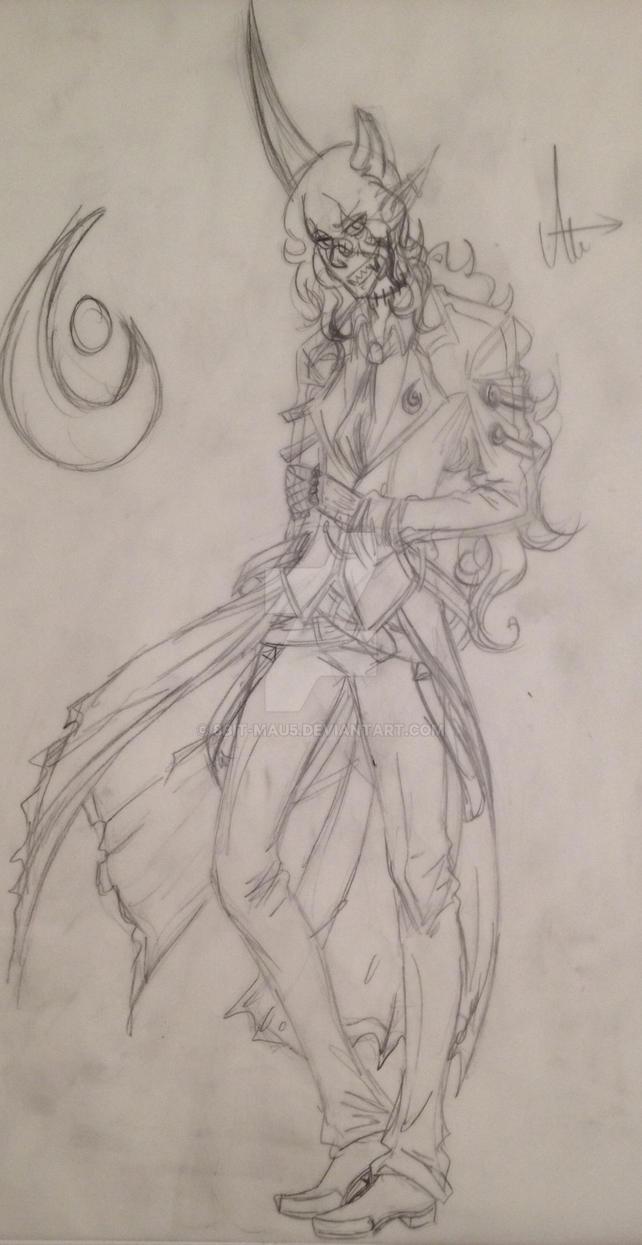 Ancestor Sketch by D-Mau5