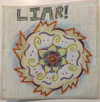 Seal of a Liar (Colored Version) by Jaecie