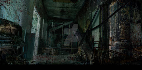 Enviroment Practice survival horror by LuisGGutierrez