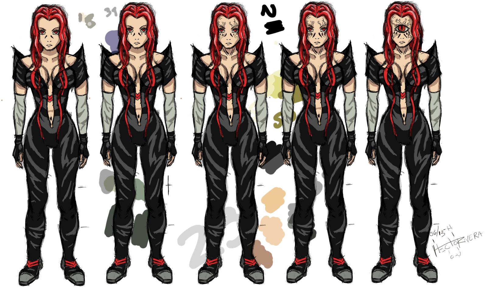 Character Design Oc : Cartoon character design by itzaspace
