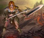 Barbarian HoS by itzaspace