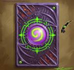 Warlock card back