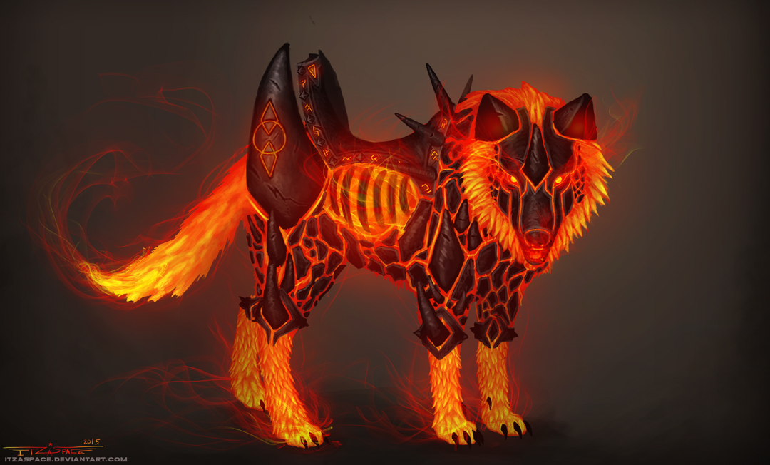 magma wolf mount concept by itzaspace on deviantart warrior logistics warrior logistics coppell tx