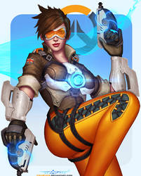 Tracer Overwatch by itzaspace