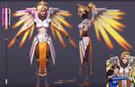 Mercy 3d model fanart 1