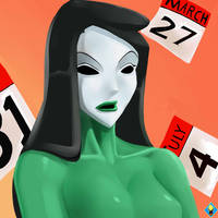 Calender Girl by SuperSaiyan3Scooby