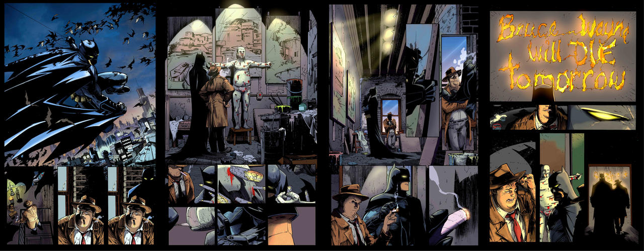 Court of Owls Sequential Samples by greenjaygraphic