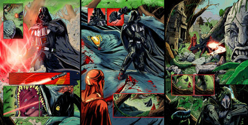 Star Wars Sequential Samples by greenjaygraphic