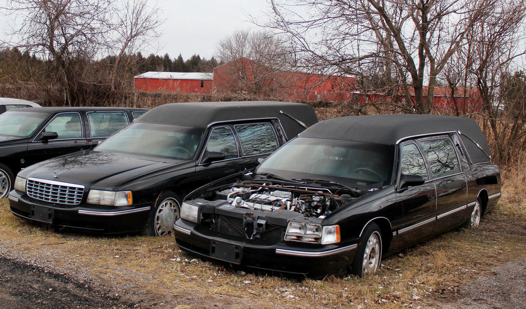 Hearse Graveyard by boogster11
