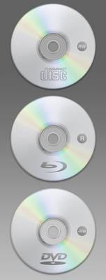 WIP: Optic Discs for Iconset