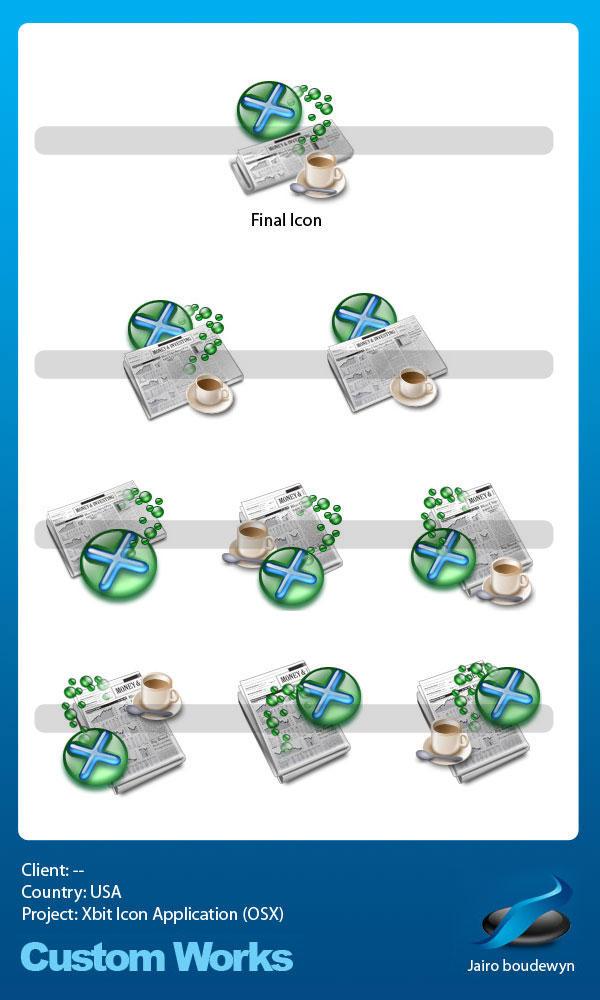 Xbit Icon Custom Work by weboso