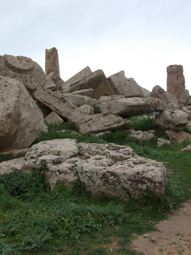 Italian Ruins Stock 2 by OpakieStock
