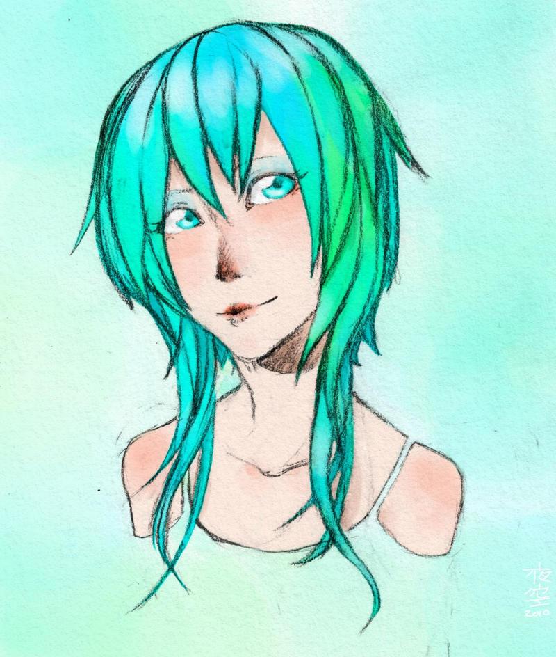 Neon Smile by VerticalForklift