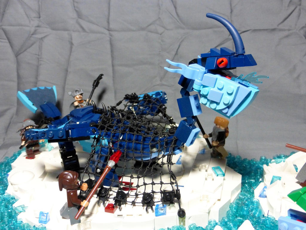 how to build a lego baby dragon