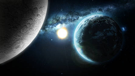 ChronicWolrdSpaceScene by Light262
