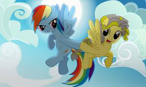 [MLP Comission] Rainbow Dash and Liberty team