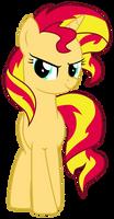 [MLP ] Sunset Shimmer pose pride