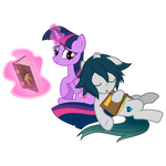 [MLP ] Twilight and Light, moment of rest