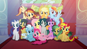 [MLP ] All friends group photo by Light262