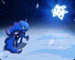 [MLP Fanart] Winter memory