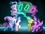 [Lumic4 - Lum and Light] 3000 watchers by Light262