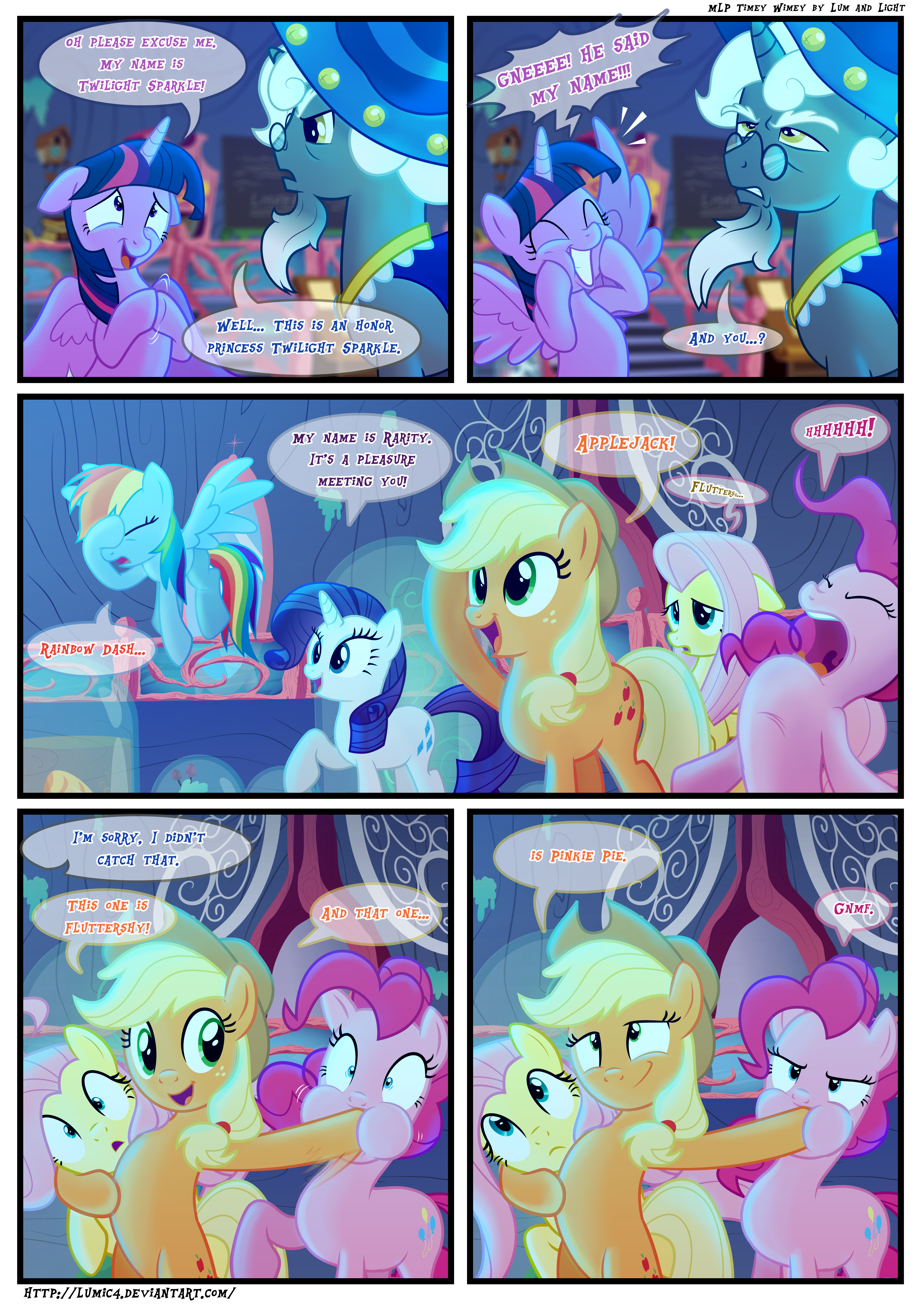 Mlp Timey Wimey Page46 By Light262 On Deviantart