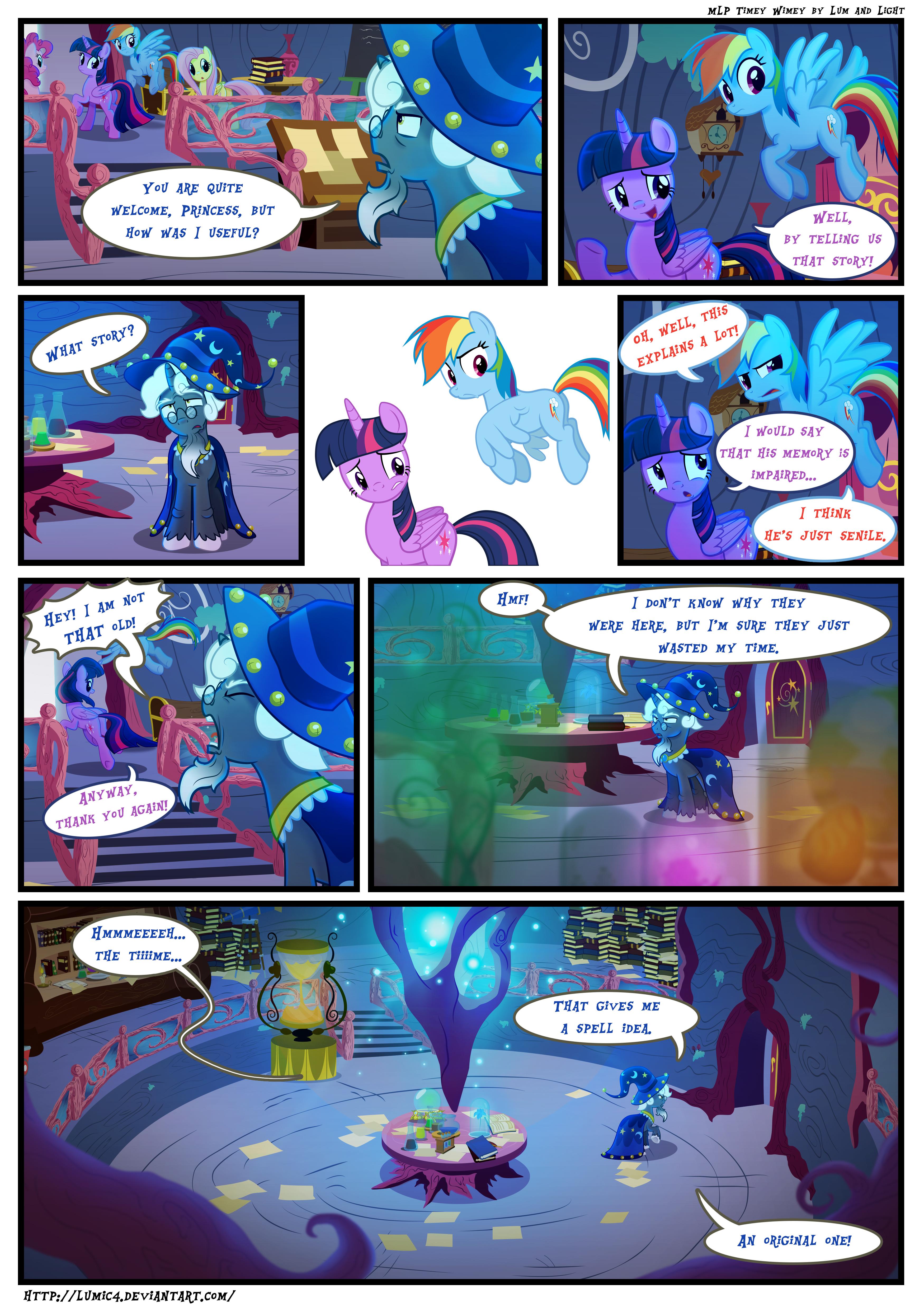 MLP - Timey Wimey page55