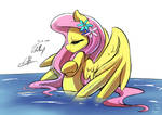 [Lumic4]-Light-Fluttershy bath