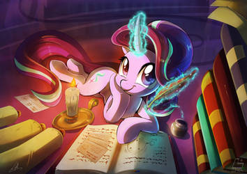 [Lumic4-Light] Starlight studying