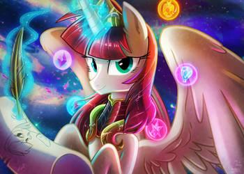 [Lum and Light] Princess Fausticorn by Light262