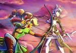 [Light] COMMISSION - Archers friendship!