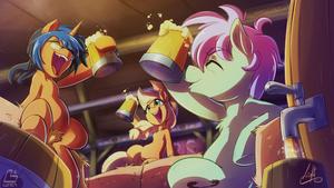 [Light - Commission] More cider !