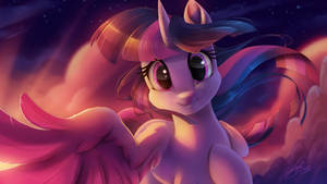 Twilight Sparkle tenderness by Light