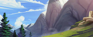 MLP - Background concept art 01  by Light262