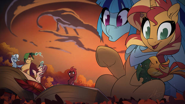 Sunset Autumn time  by Light262