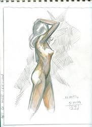 Figure Drawing Fun XIV by MichaelCrichlow
