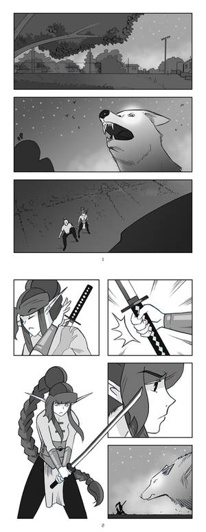 Infinite Harem - Chapter 3 - Pages 1 and 2