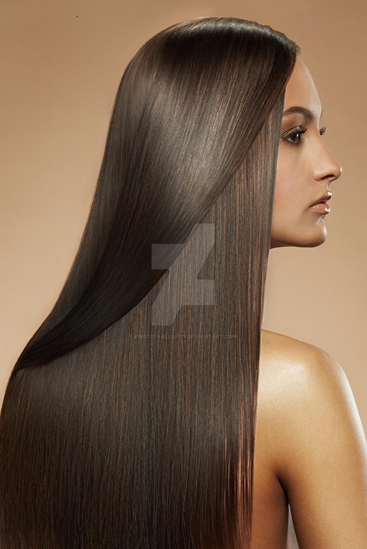 StraightHair Retouch Practice by EmotionalLadyy