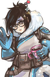Mei from Overwatch by AlpacaCarlesi
