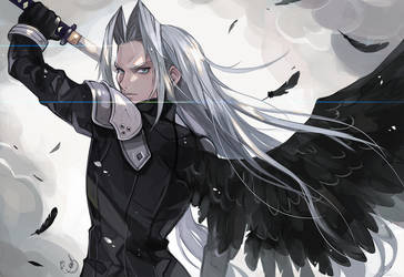 Sephiroth by AlpacaCarlesi