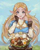 Zelda BOTW by AlpacaCarlesi